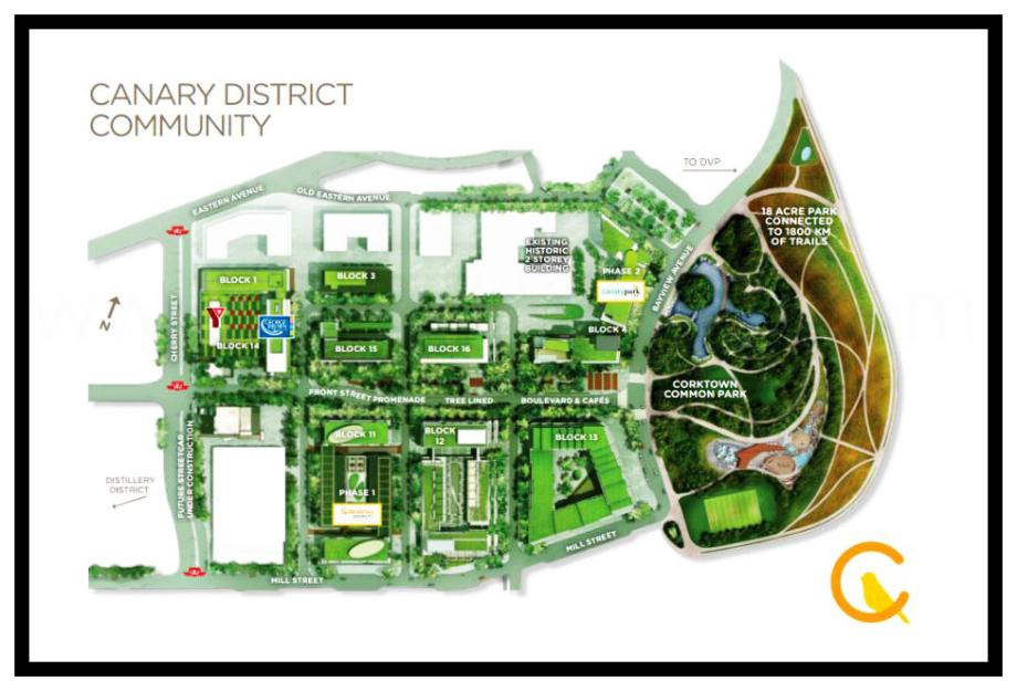 Canary Block Site Plan